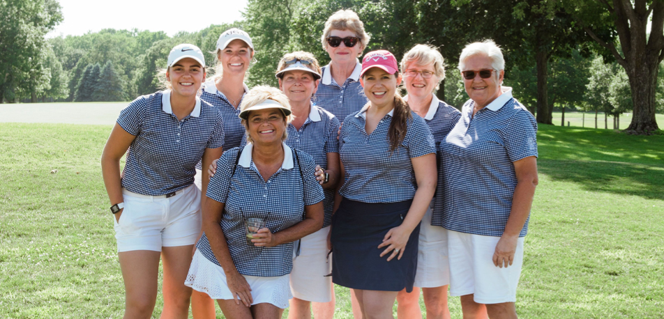 Women Golfing at Kishwaukee Country Club